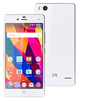 zte-blade-e01-whiteのイメージ画像