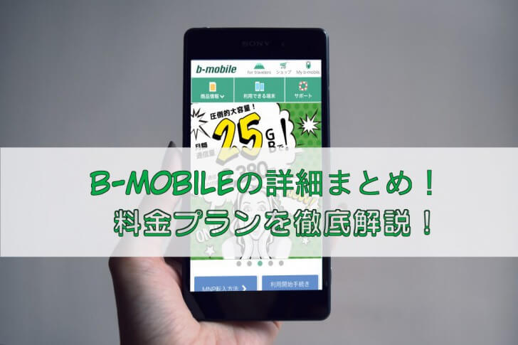 b-mobile徹底解説記事のサムネイル画像