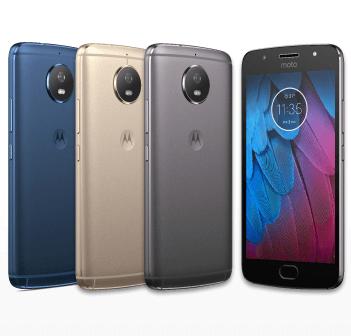 Motorola「Moto G5s」