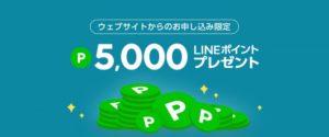 LINEモバイル ポイントバックキャンペーン